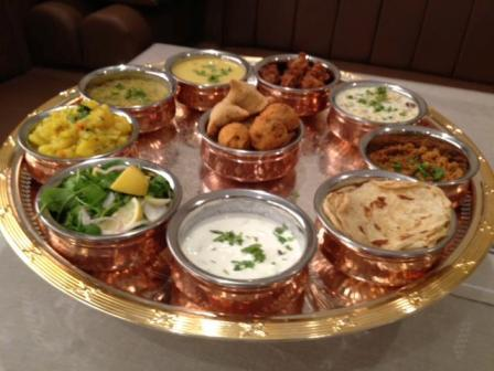 Special Indian Breakfast Tray