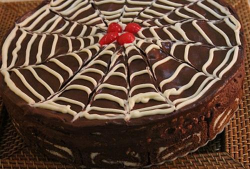 Choc & Fruit Cake