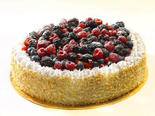 Mix Berries Cake