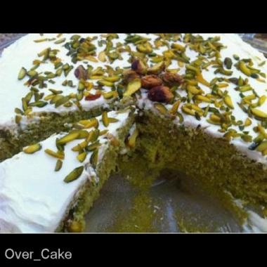 Pistachios cake