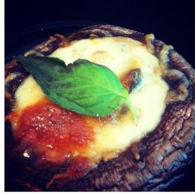 baked portobella mushroom