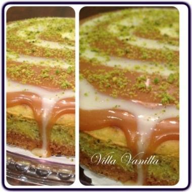 Villa Vanillapistachios cheese cake