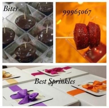 chocolate&red velvet Bites